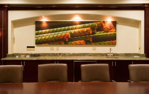 Re Bar Fresco 3636 – Installed