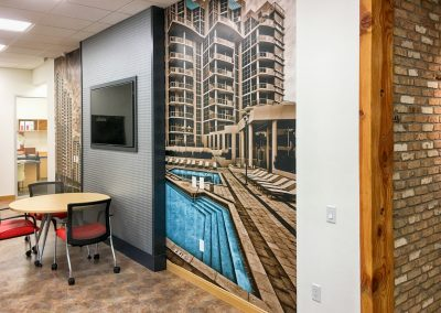 Construction art - Company project wall wrap 01
