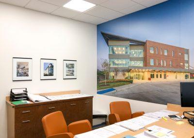 Construction art - Company project wall wrap 02
